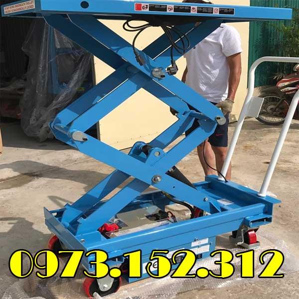 Bàn nâng điện 350 kg nâng cao 1.6m