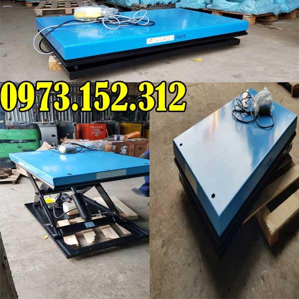 Báo giá rẻ nhất bàn nâng điện 2 tấn HIW20 Eoslift – Mỹ