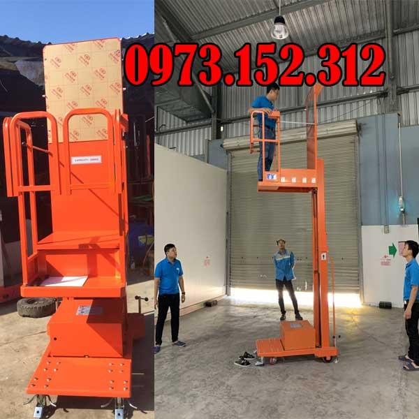 Thang nâng người 200 kg nâng cao 4.5m model GOPY4.503