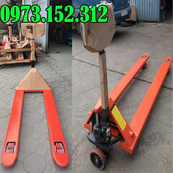Xe nâng tay siêu dài  1.8m, 2m tải trọng 2 tấn 2.5 tấn 3 tấn
